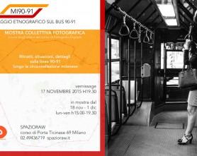 Viaggio etnografico sul bus 90 e 91