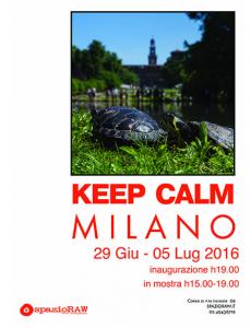 Keep Calm Milano