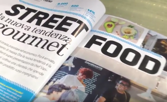 Progetto Videomaker: Street Food