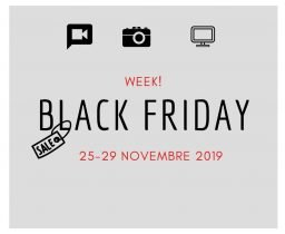 BLACK FRIDAY WEEKLY! 25-29 NOVEMBRE 2019