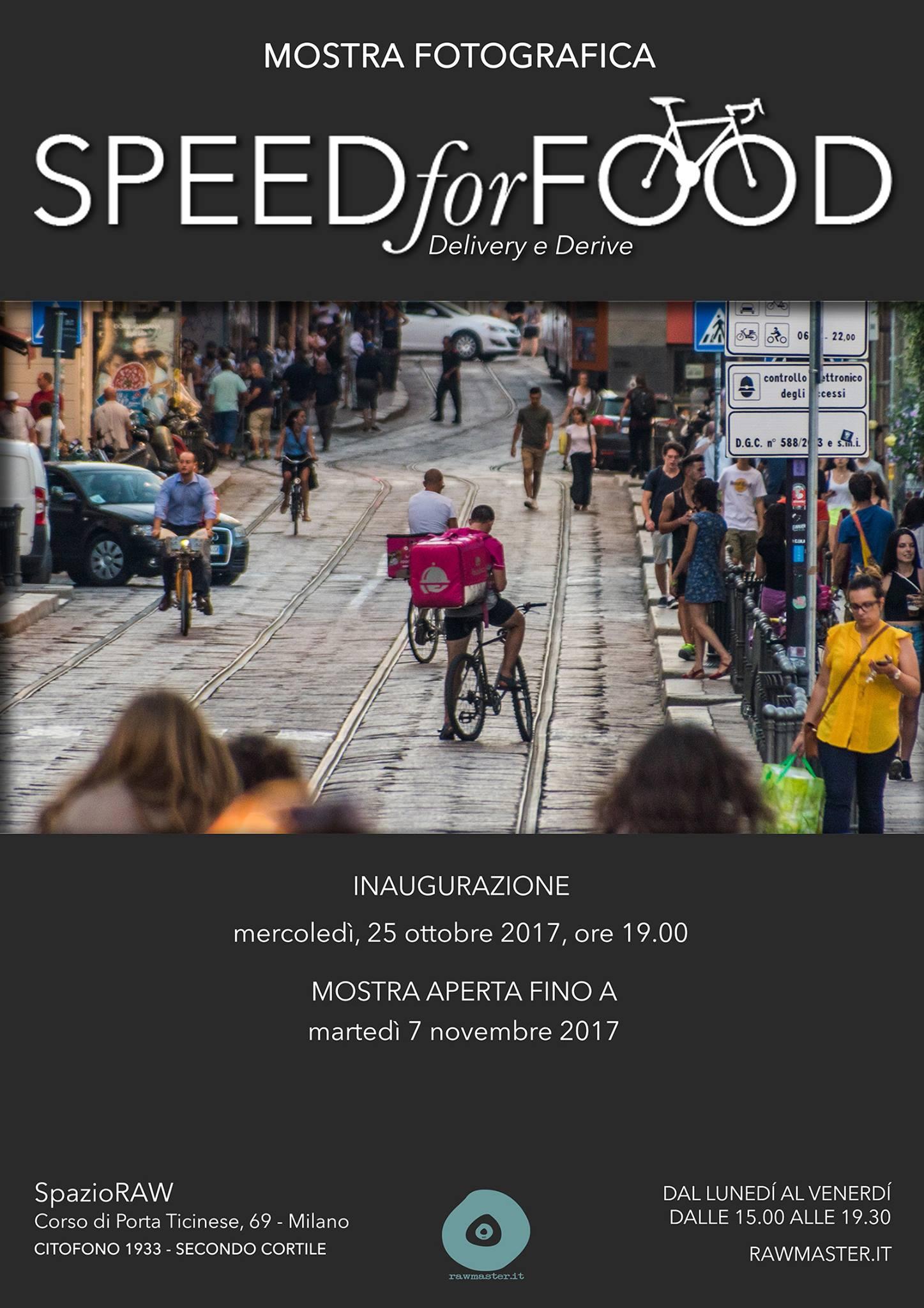 SpeedforFood mostra fotografica in spazioRAW Milano