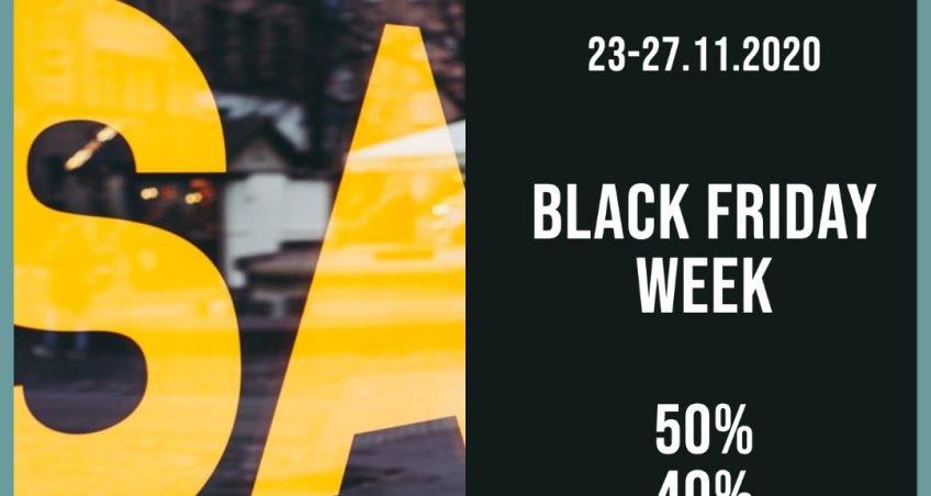 BLACK FRIDAY WEEKLY! 23-27 NOVEMBRE 2020
