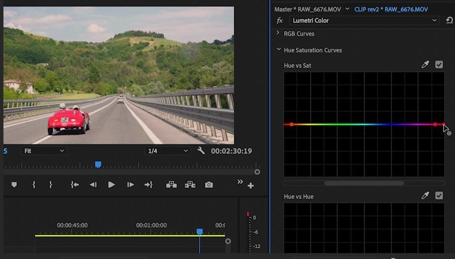 color correction raw master